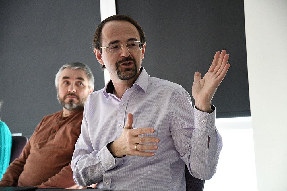 Alexander Makarov visits NCQBCS
